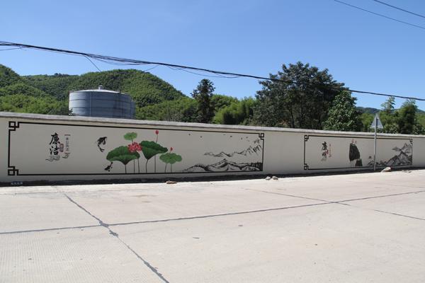 赤壁:3000平米手绘墙 构建廉政新课堂